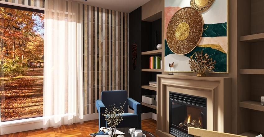 осень Interior Design Render