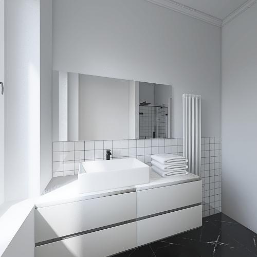 bagno cesano gloria Interior Design Render