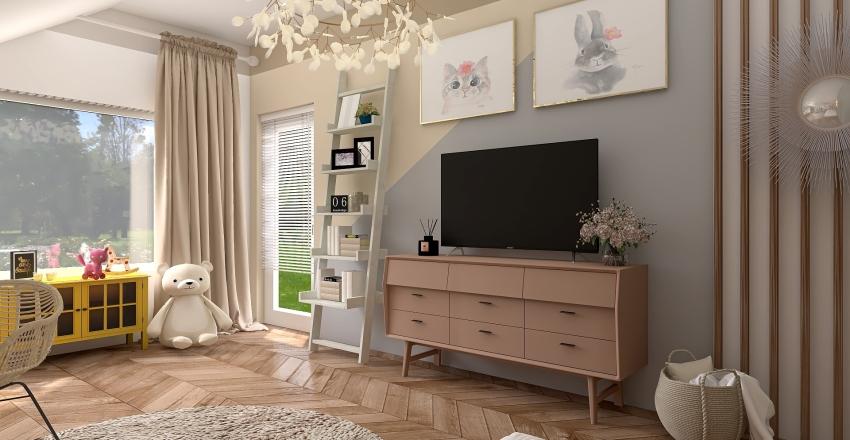 Pokój Kalinki :) Interior Design Render
