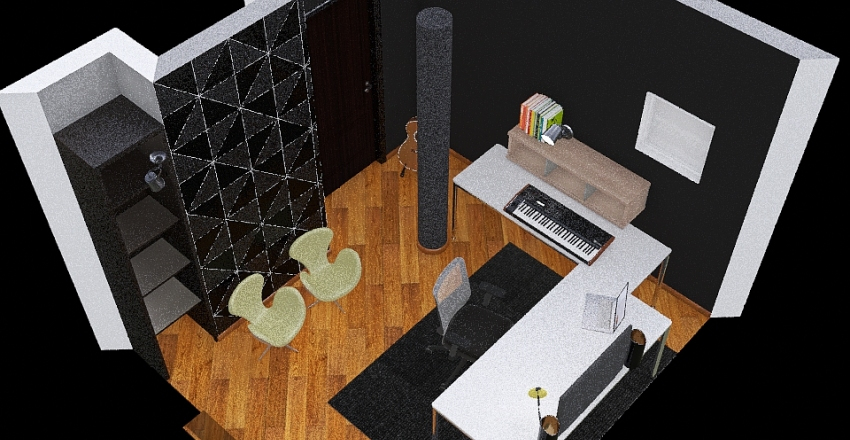 HOMESTUDIO 02 Interior Design Render