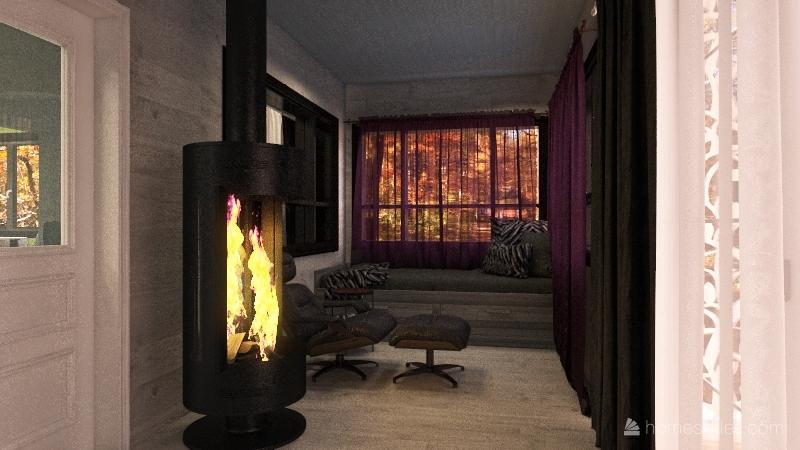 White Bear House flip Interior Design Render