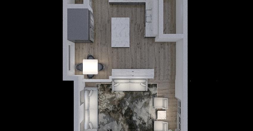 Copy of kitchen & Family 2 Interior Design Render