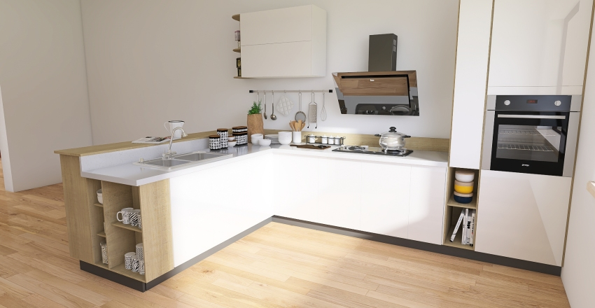 Suburban Home Interior Design Render