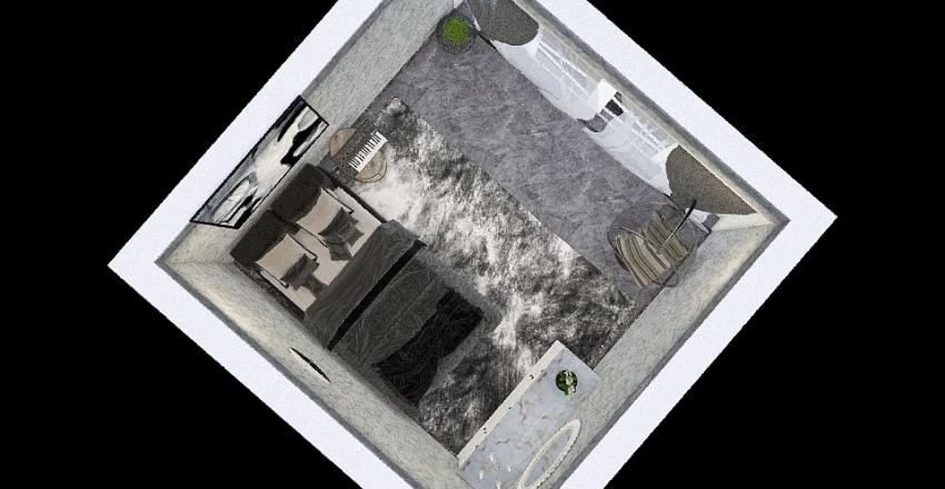 Copy of Contemplative Space Interior Design Render