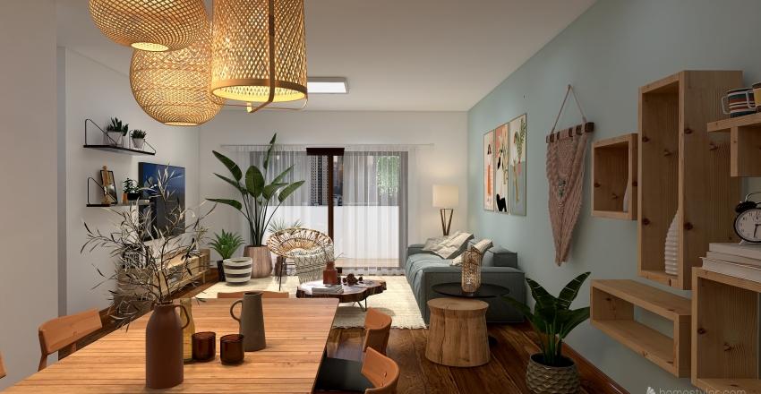 Azul Lar Interior Design Render