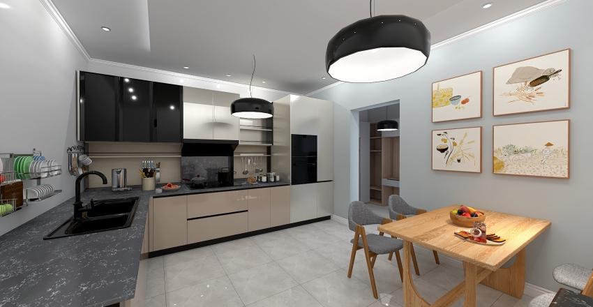 luxury room Interior Design Render