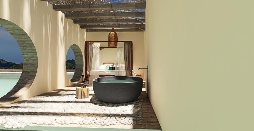Tropical paradise!  Interior Design Render