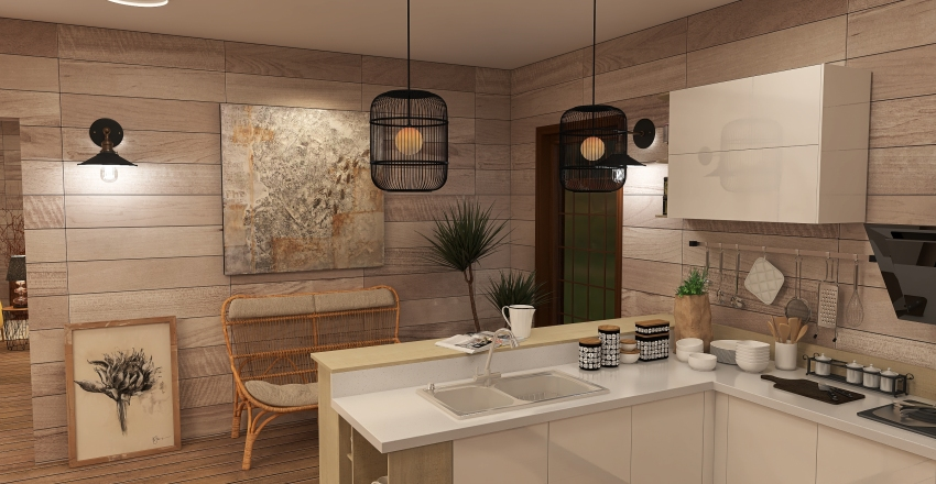 hzz Interior Design Render