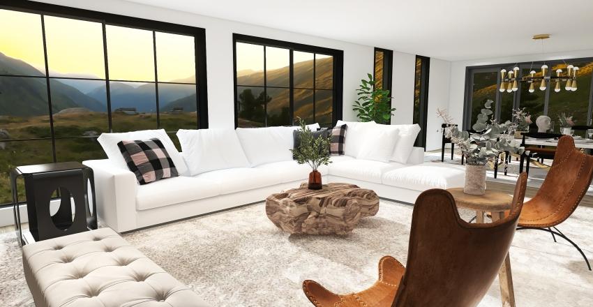 Lewl Model Home Interior Design Render
