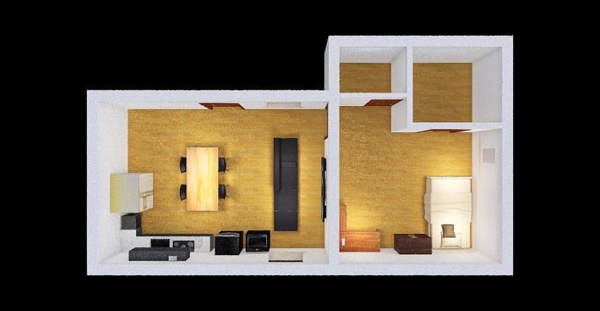 Tiny House design Interior Design Render