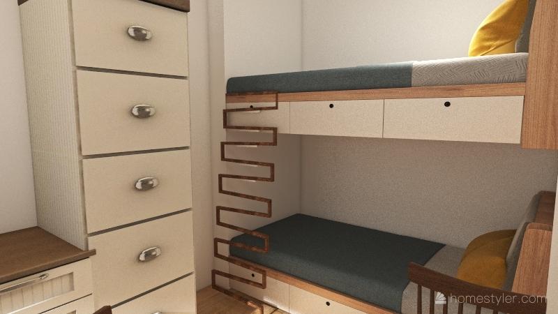 Container 2 Interior Design Render