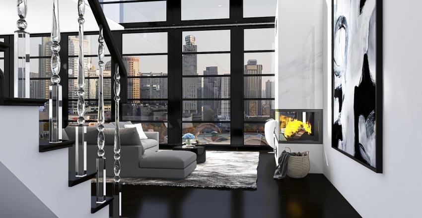 chicago apartment Interior Design Render