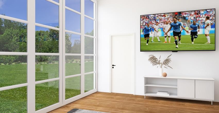 Modern Wabi Sabi Interior Design Render