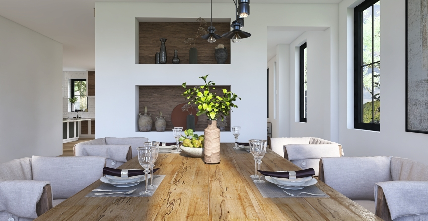 LIVING IN THE COUNTRY Interior Design Render