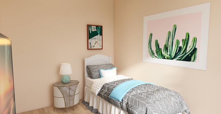Beach Getaway Interior Design Render