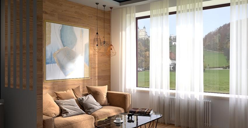Квартира М01 Interior Design Render