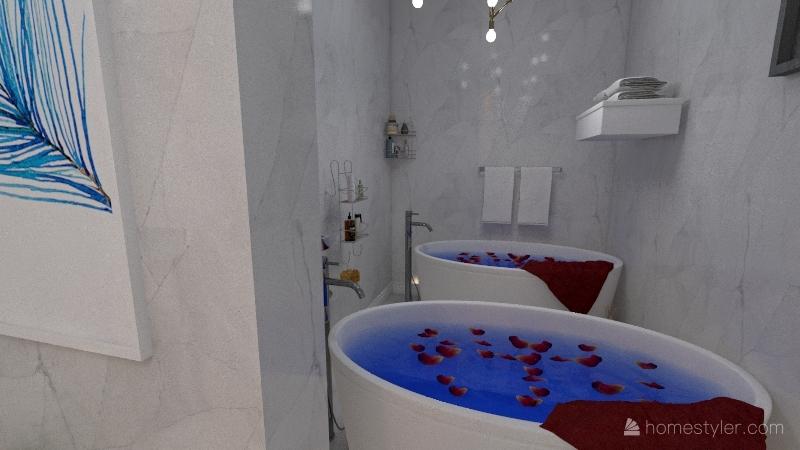 spa Interior Design Render