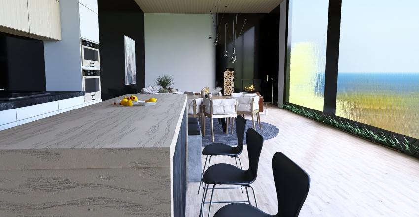 Earthy Toned California Interior Design Render