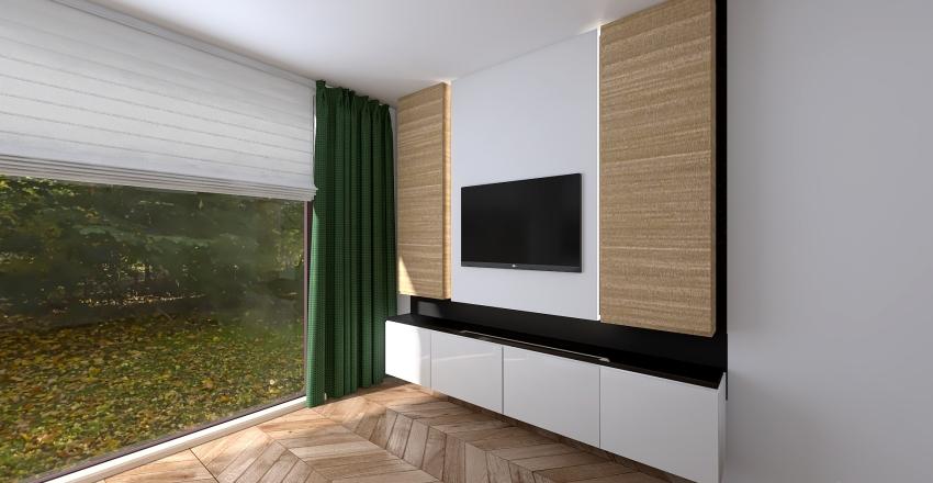 wersja salonu Interior Design Render