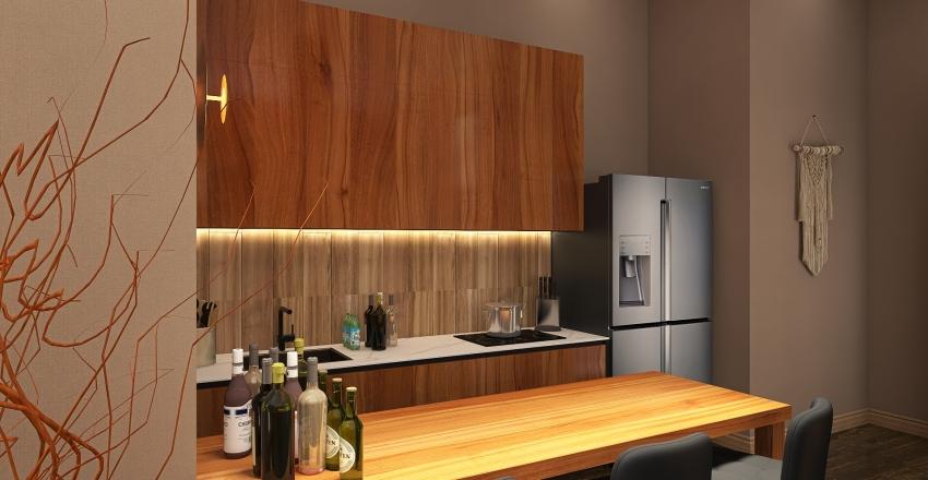 Party House Interior Design Render