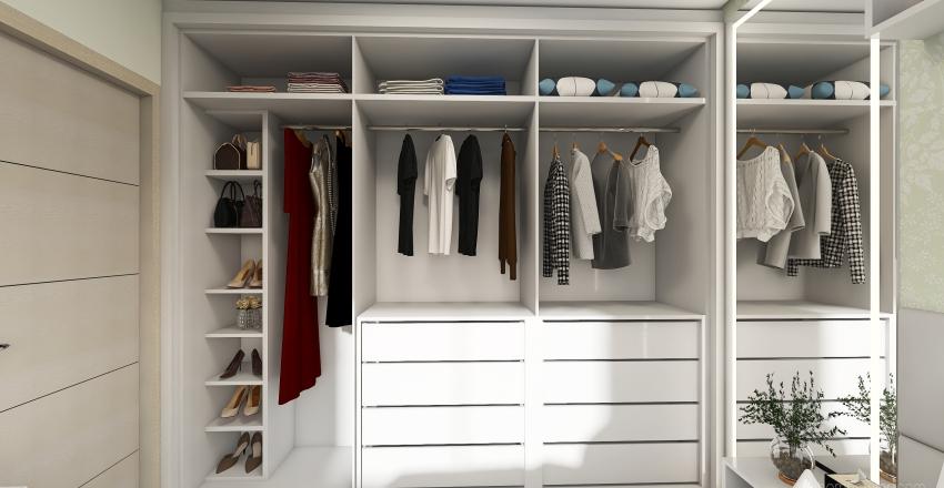 Quarto Feminino Jovem Interior Design Render