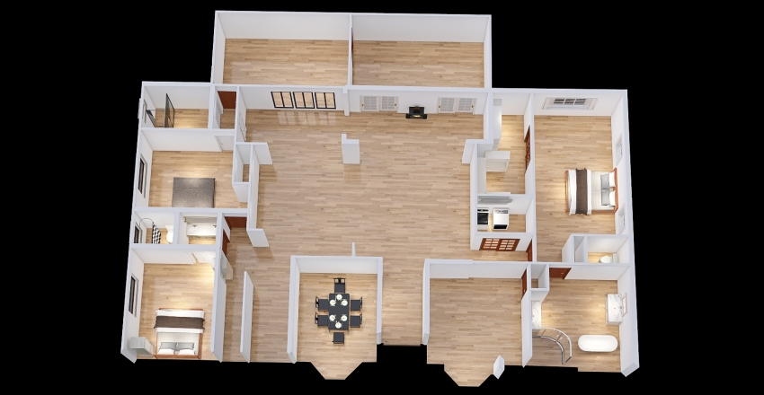 112-9 Interior Design Render