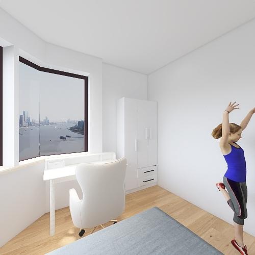 quarto sofia Interior Design Render