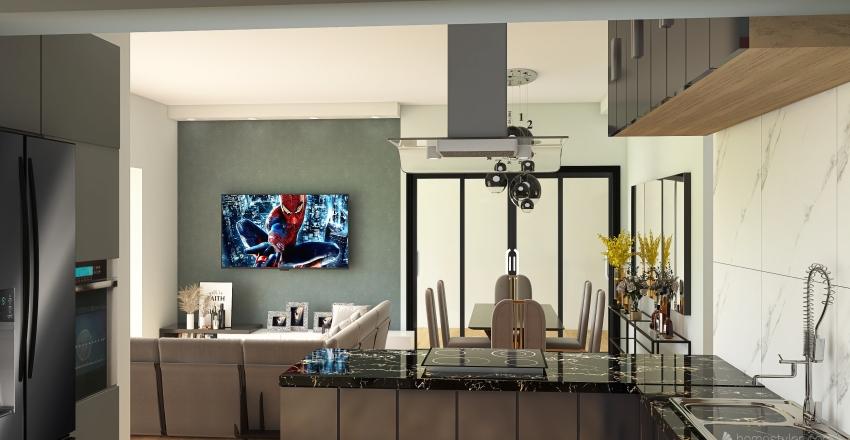 casa michel Interior Design Render