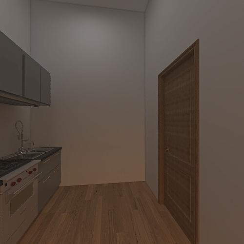 piadineria Interior Design Render