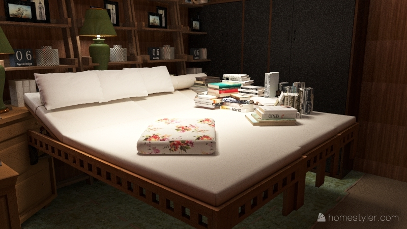 Mao Zedong's room Interior Design Render