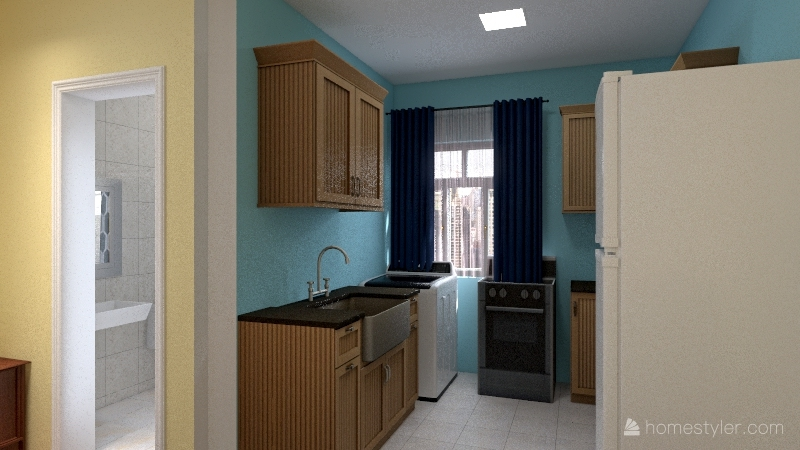 Casa Ercilia Interior Design Render