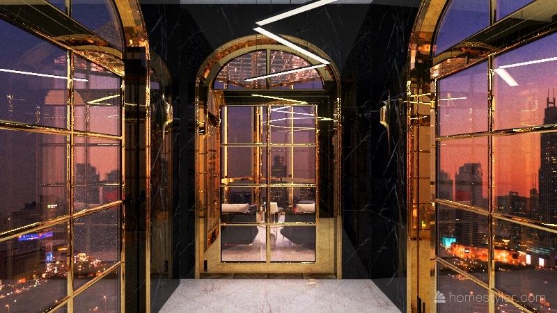 Enclosure Interior Design Render
