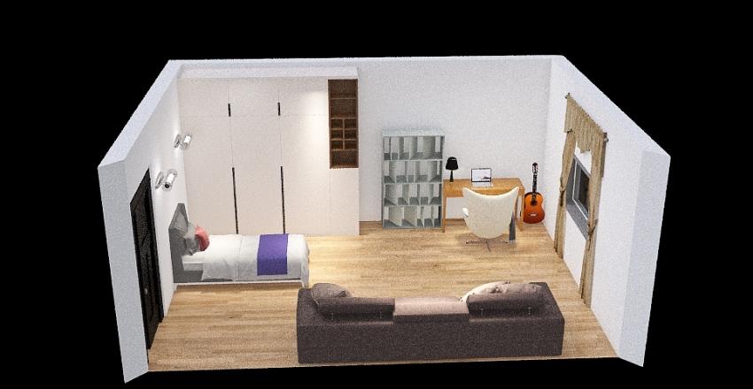 progetto scuola  Interior Design Render