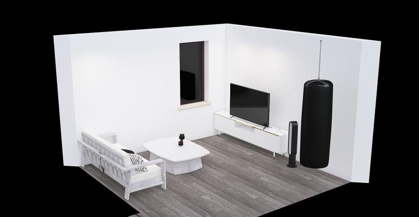 Technical Interior Design Render