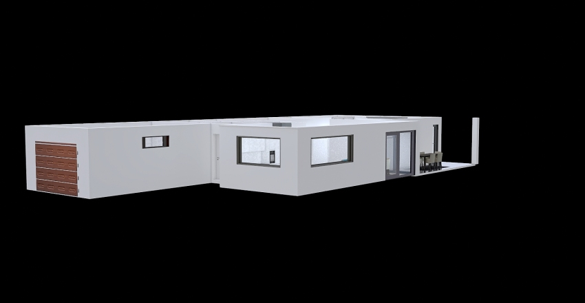 Proiect casa V14_baie modif + usa dormitor mutata Interior Design Render