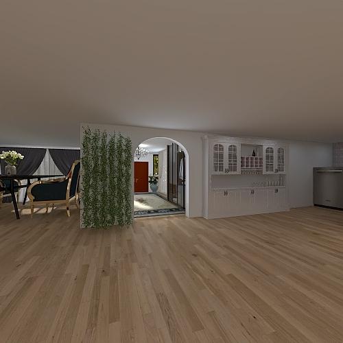 Client House (STEM Project) Interior Design Render