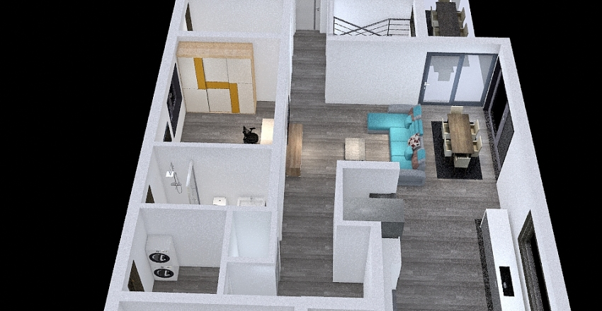 Proiect casa V13 Interior Design Render