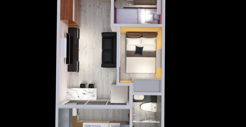 Yuet Ping HSE Interior Design Render