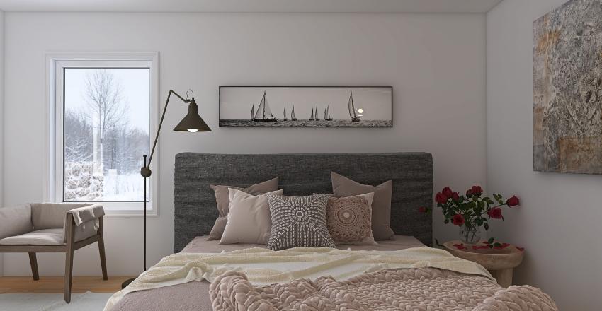 Mountain Home Interior Design Render
