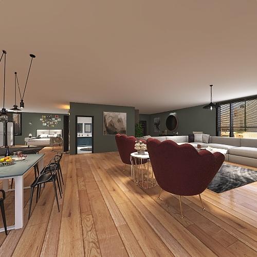 1+1 Interior Design Render