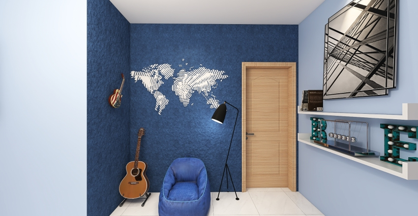 Rony world Interior Design Render