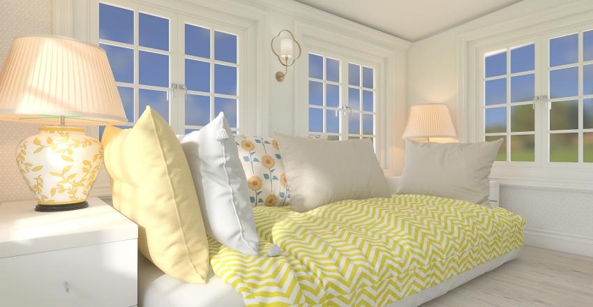 Cutest Tiny House Ever! Interior Design Render