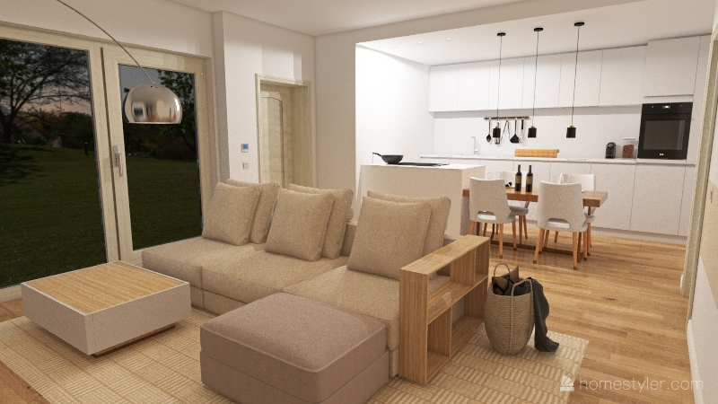 my new home project Interior Design Render