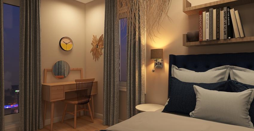 Chambre d'Elsa III Interior Design Render