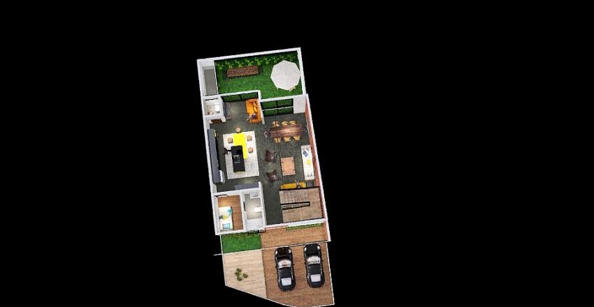 v2_Planta Baja Interior Design Render