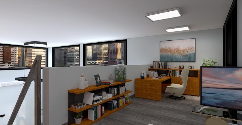 house single Interior Design Render
