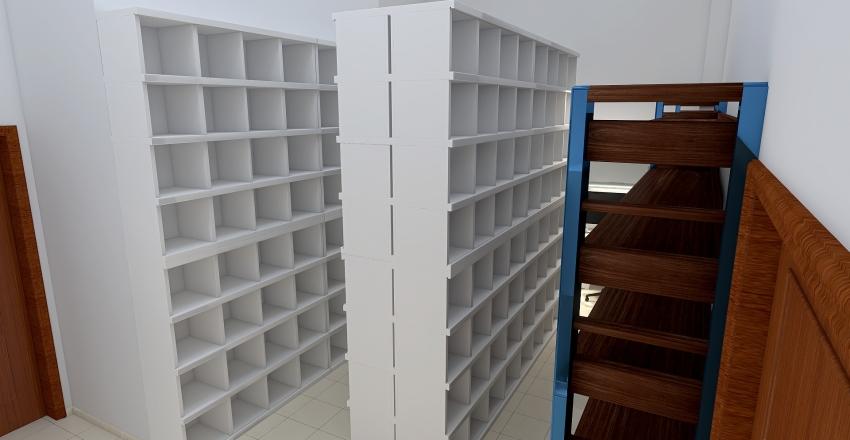 Copy of Lublin zaplecze Interior Design Render