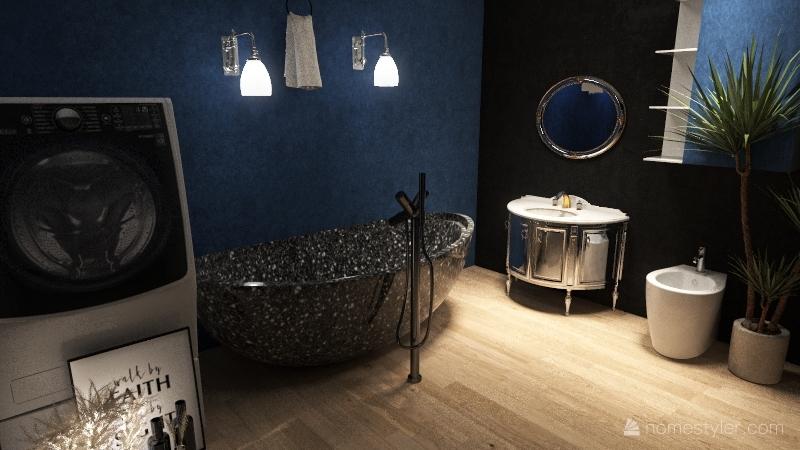 Blue Darkness (No outdoor Desing) Interior Design Render