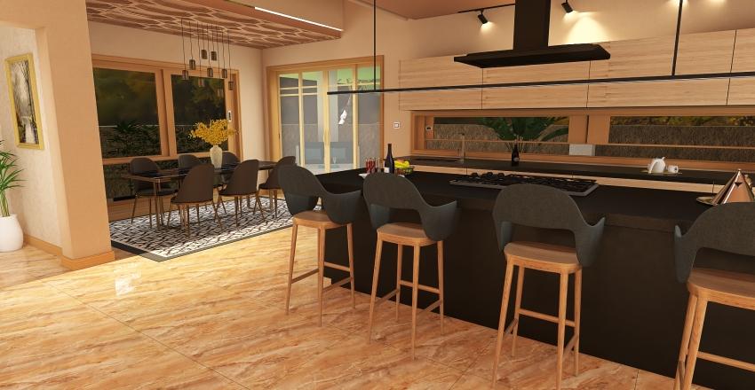 Residential Interior Design Render