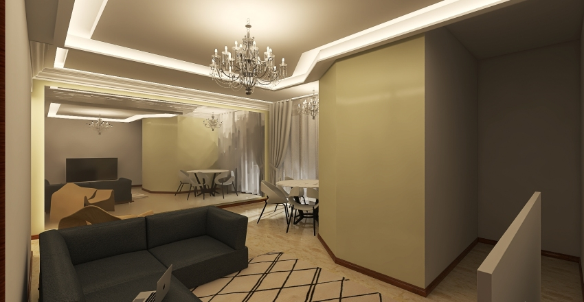 sala 2 Interior Design Render